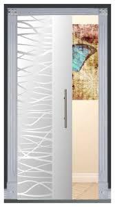 frameless glass pocket sliding door and