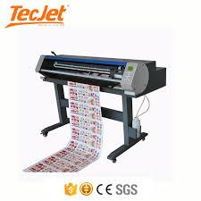 China Tecjet Vinyl Sticker Printing Cutting Machine Plotter Wide Format Printer Cutter China Cutter Printer Cuttting Plotter