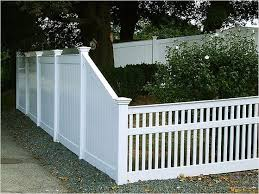 44 Perfect Vinyl Privacy Fence Ideas That Will Make Your Home Stunning Viral Decoration Patio Fence Privacy Fence Designs Front Yard Fence