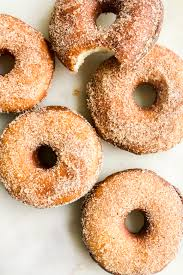 homemade fried donuts eggless