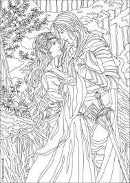 Fantasia Fantasy Romance Kleurplaten Kleurplaten Voor