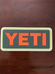 Yeti Coolers Sticker Decal Brand New Have Other Colors Styles Pictured Us Polybull Com