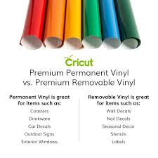 Cricut Premium Permanent Vinyl Pink And Purple Bundle Craft E Corner