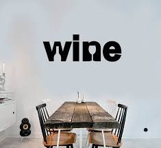 Vinyl Wall Decal Logo Word Wine Shop Bar Bottle Glass Stickers 3712ig Wallstickers4you
