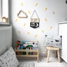 Superhero Wall Decals Lightning Bolt Wall Stickers Match Set Love