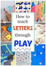 alphabet activities for preers