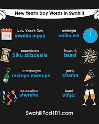 how to say happy new year in swahili swahilipod