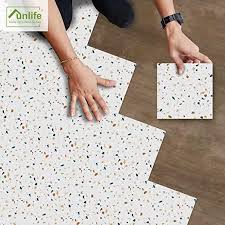 Amazon Com Frolahouse Set Of 10 Colorful Terrazzo Floor Wall Tile Decal Self Adhesive Peel Stick Vinyl Tiles 3d Anti Skid Decorative Tile Sticker For Kitchen Bathroom Floor Kitchen Dining