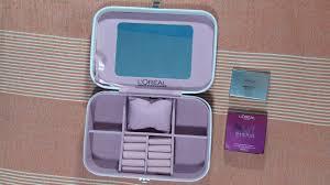 loreal bridal makeup jewellery box free