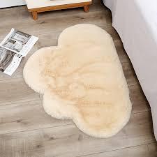 Soft Fluffy Cloud Shape Rug Carpets For Living Room Decor Faux Fur Carpet Kids Room Bedroom Shaggy Area Rug Modern Mat 70x90cm Carpet Aliexpress
