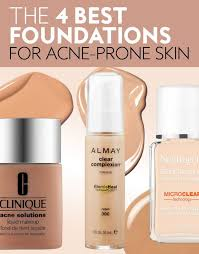 foundations for acne e skin