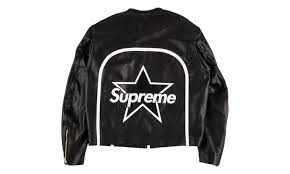 supreme vanson leather star jacket ss