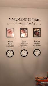 A Moment In Time Changed Forever Photo Picture Wall Vinyl Wall Decal Sticker Lettering With Names And Dates Custom Hh2147 In 2020 In This Moment Family Wall Decals Picture Wall