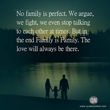 when all else fails family is there