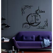 Shop Libra In The Frame Wall Art Sticker Decal Overstock 11703859