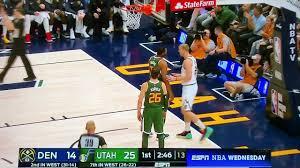 Denver Nuggets vs Utah Jazz Fight