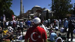 Sainte-Sophie : la Turquie provoque le monde orthodoxe | Les Echos