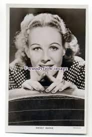 b4445 - Film Actress - Wendy Barrie - Picturegoer postcard 730c | eBay