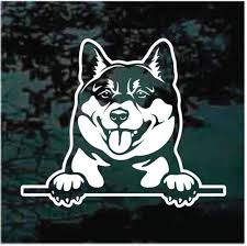 Shiba Inu Car Decals Stickers Decal Junky