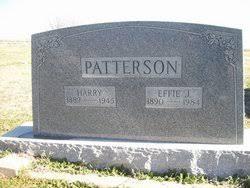Effie J Atchison Patterson (1890-1984) - Find A Grave Memorial