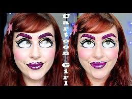 cute cartoon makeup tutorial