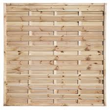Pale Green Woodbury Timber Fence Panel W 1 8m H 1 8m Pack Of 5 Departments Diy At B Q Timber Fence Panels Fence Panels Wooden Fence Panels