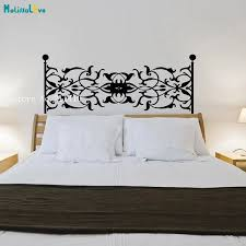 Bedside Wall Decals Vines Headboard Vinilos Paredes Home Decoration For Bedroom New Design Self Adhesive Art Vinyl Murals Yt164 Wall Stickers Aliexpress
