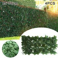Windscreen4less Artificial Leaf Faux Ivy Expandable Stretchable Privacy Fence For Sale Online Ebay