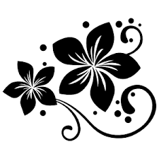 Intricate Flower Stickers Flower Car Decals Car Stickers