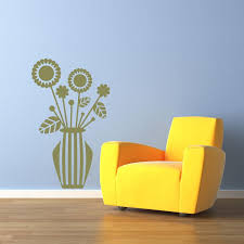 Flower Vase Wall Decal Style And Apply