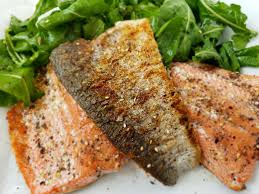 Crispy Skin Salmon Recipe with Za-atar ...