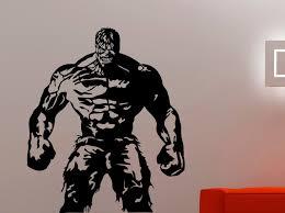 Hulk Wall Sticker Superhero Decal Home Interior Design Dorm Etsy