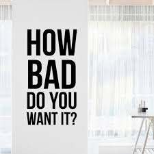 Eric Thomas How Bad Inspirational Motivational Wall Decal Etsy