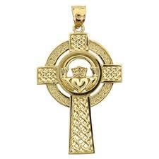 claddagh cross celtic cross cross 14k