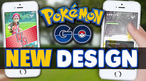 Latest Update Pokemon Go To Bring New Redesigned User Interface