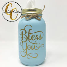 Bless You Mason Jar Decal