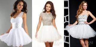white prom dresses choosing style