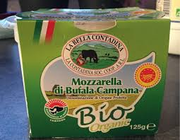 Mozzarella di Bufala Campana - La Bella Contadina - 125 g e
