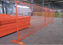 Orange Construction Temporary Fence Welded Wire Temporary Fence Panel For Sale Galvanized Temporary Fence Manufacturer From China 108740678
