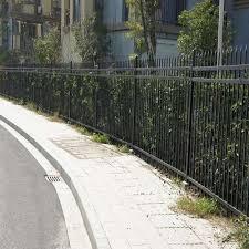 China Galvanized Steel Fence Galvanized Steel Fence Poles China Galvanized Steel Fence Security Fence