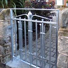 contemporary art nouveau garden gate