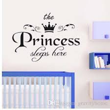 Removable Wall Sticker The Princess Sleeps Here Crown Decal Living Room Bedroom Vinyl Carving Wall Decal Sticker Wholesale 555 Cheap Tree Wall Decals Cheap Vinyl Wall Decals From Qiansuning88 9 79 Dhgate Com