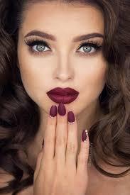 stunning red lipstick makeup ideas