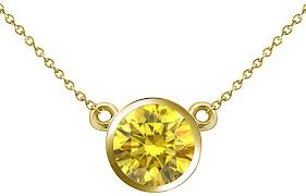 0 25 carat fancy yellow diamond by the