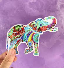 Elephant Vinyl Sticker Elephant Decal Laptop Decal Phone Decal Elephant Elephant Sticker Animal Sticker Car Decal Water Bottle Decal In 2020 Elephant Stickers Elephant Decal Phone Decals