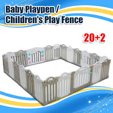 Baby Playpen Children S Play Fence Portable Play Yard For Kids Infant Plastic Room Divider 20 2 Shopee Philippines