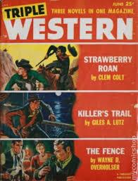 Triple Western 1947 1958 Standard Pulp Comic Books 1953