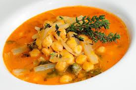 garbanzos con verduras potaje con