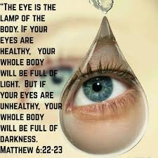 Matthew 6 :22-23 Oh be careful little eyes what you see... | Christian  encouragement, Matthew 6, Scripture verses