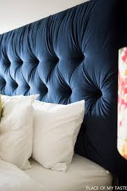 easy and stylish diy tufted headboards